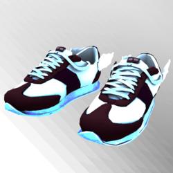 Messenger GlowInDark Purp Sneakers