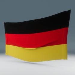 Germany Flag Wall Display