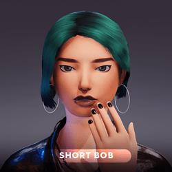 Short Bob - Female Hair