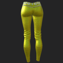 Ucci pants yellow
