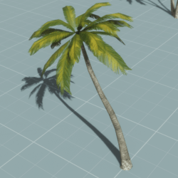 Palm Tree 1v3 (animated)
