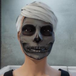 The Skull Makeup