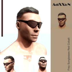 Frey Sunglasses Red Cobalt