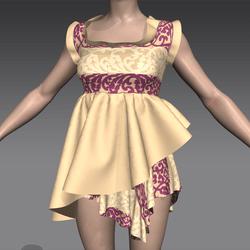 Masoom sabrina dress Skin