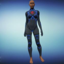 BioArmor ZV01 Body Female Grey