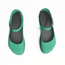 AV 2.0   Mary jane flats - green