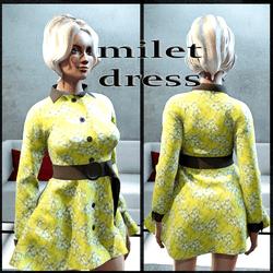 milet dress floral summer