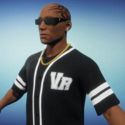 VR Black Jersey Shirt