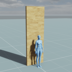 Block - Wall (1m, 0.1m, 3m)