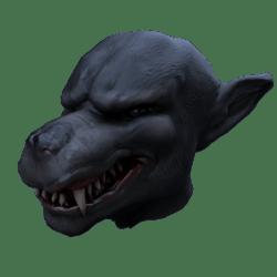 Wolf Mask (male)