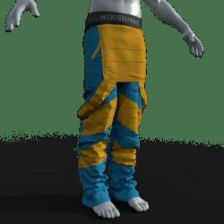 Mechapants (Blue,yellow)