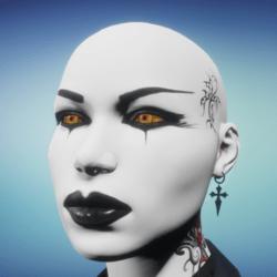 Fiery Wolf Eyes