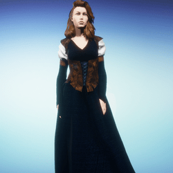 Lady Juliana Medieval Gown