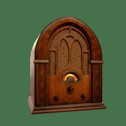 Vintage Cathedral Radio