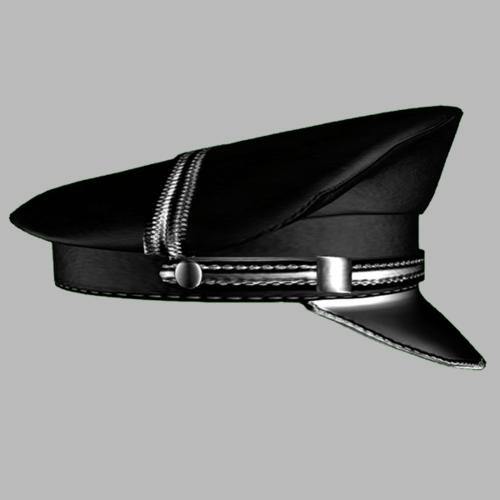 Leather cap Female