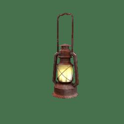 Western Oil Lamp