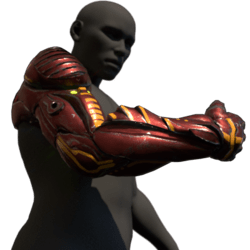 Cyborg arm (right,red)