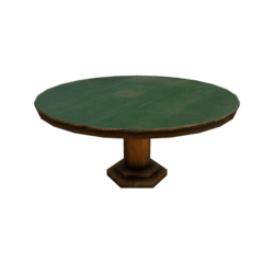 Old Poker Table