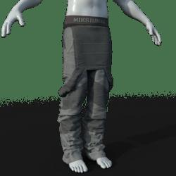 Mechapants (gray)
