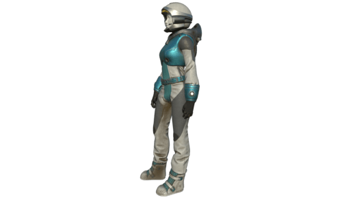 Astronaut Suit for Female Avatar