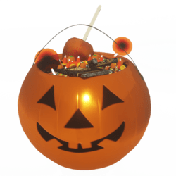 Men's Halloween Bucket