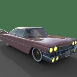Vintage Car (lights)