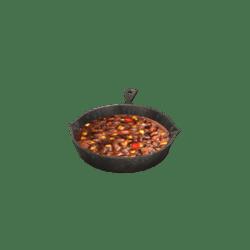Hot Chili Beans Skillet