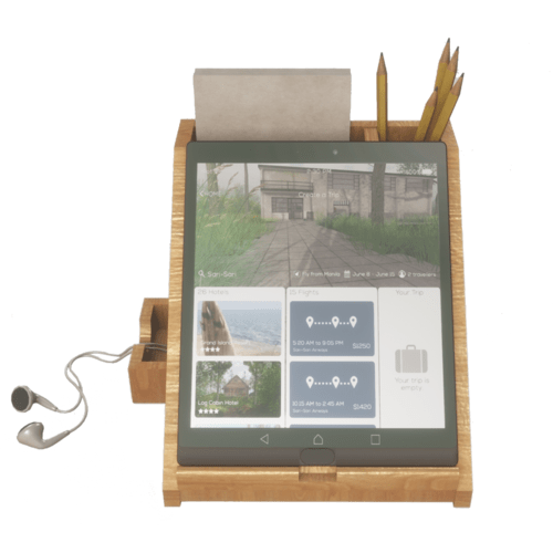 Tablet with Stand