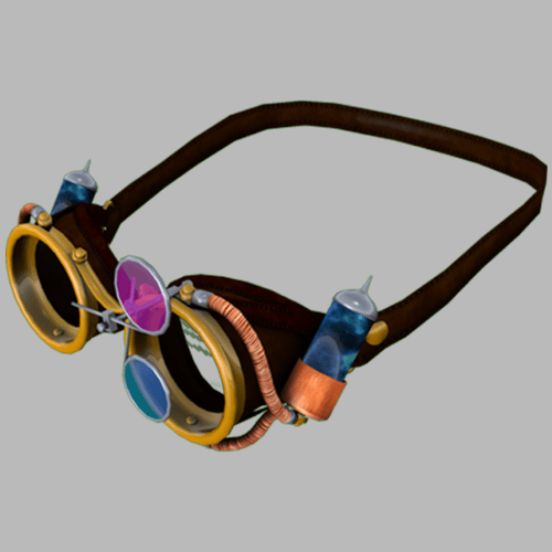 Goggles Steampunk-Male