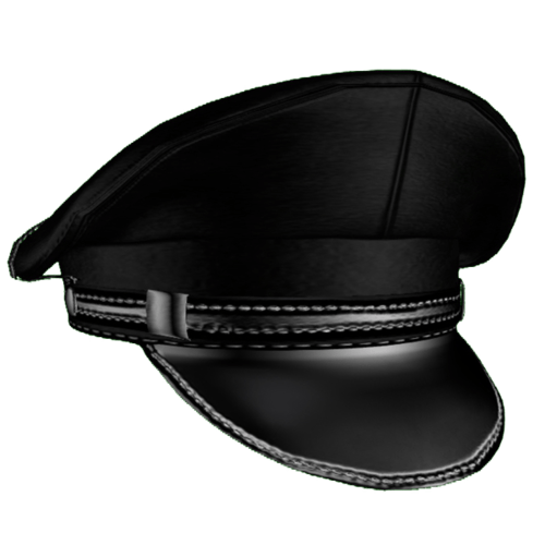 Leather cap Male